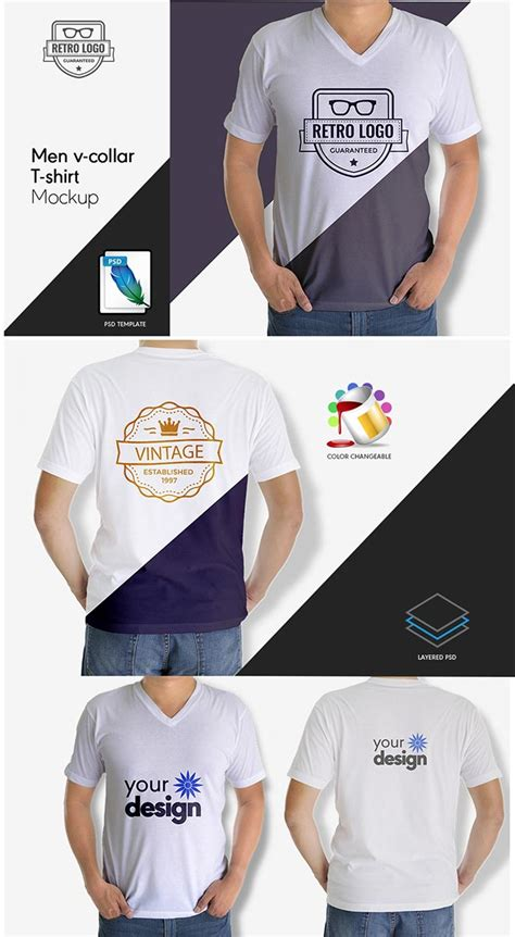 Collar T Shirt Template Psd by 45 T Shirt Mockup Templates You Can For Free