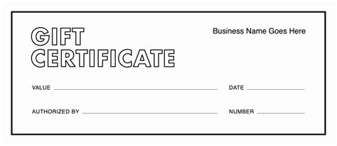 gift card templates  gift certificate templates
