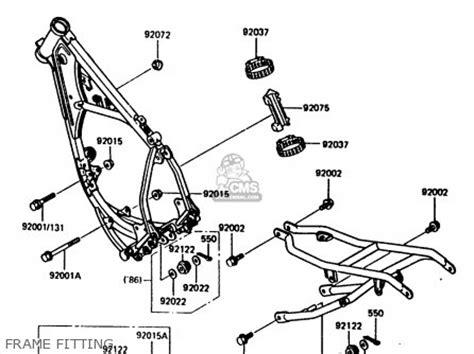 Kawasaki H1 Parts Diagram