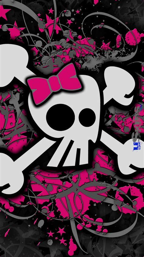 Wallpaper Girly by Skull Wallpaper 183 Wallpapertag