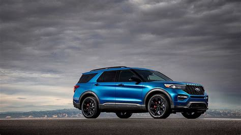 2020 Ford Explorer St Comes Into The World As The Most
