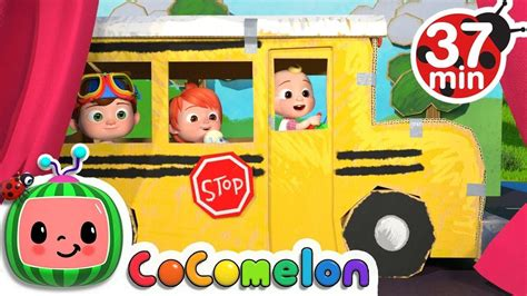 Cocomelon | baby birthday party boy, baby boy 1st birthday. Wheels on the Bus 2 | +More Nursery Rhymes & Kids Songs ...