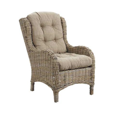 fauteuil en osier ou rotin fauteuil de relaxation rotin asizam 4997