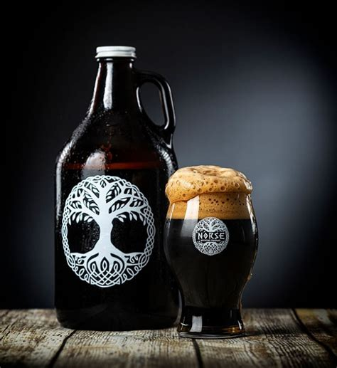 Nice roasty malt, sweet caramel, and slighty bitter coffee notes: Liquid Assets: Phat Thor Stout from Norse Brewing | Cary Magazine