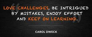 Growth Mindset ... Engineering Challenge Quotes