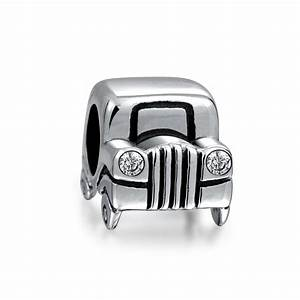 Charmes Automobile : sterling silver jeep car bead cz headlights fits pandora charms ~ Gottalentnigeria.com Avis de Voitures