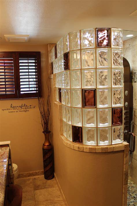Glass Block Bathroom Designs by 5 Innovative Glass Block Shower Ideas Bathrooms Glass