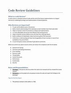 java code review document template java code review With java code review template