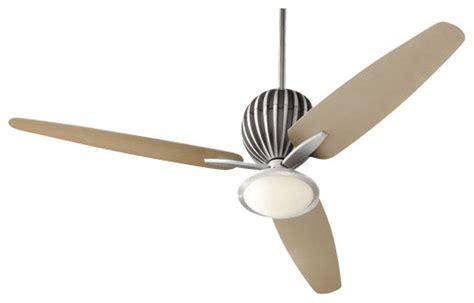 mid century modern ceiling fan quorum international 30603 alumina 60 quot 3 blade indoor