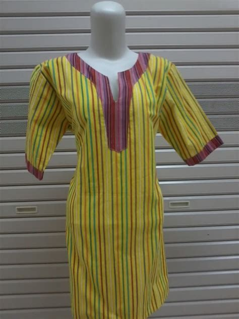 jualdress dress blus lurik modern warna kuning kayamara