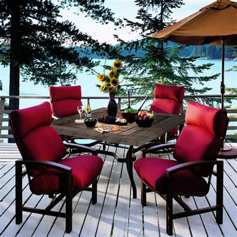 lakeside seating cushion patio furniture by tropitone