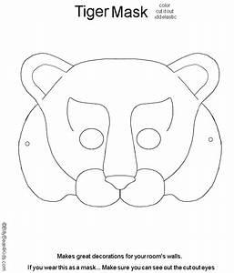 Fox mask template animal masks for kids printable for Dog mask template for kids