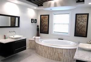 Wandbilder Für Badezimmer : bilder im bad aufh ngen 40 ideen und tolle motive ~ Frokenaadalensverden.com Haus und Dekorationen