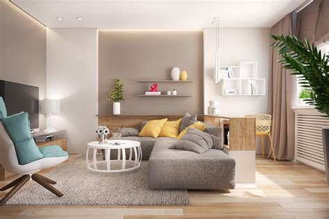 Living Room : 18+ Open Living Room Designs, Idea