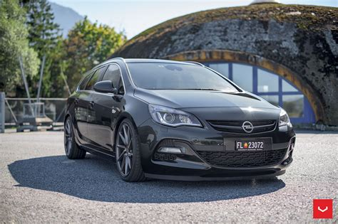 Opel Astra Wagon by Opel Astra J Wagon Doubles Its Value With Vossen Cvt