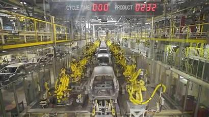 Industrial Line Robotics Law Process Robot Robots