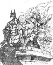 Cool Batman Drawings Dark