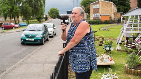 grandmother uses hairdryer as speed gun youtube