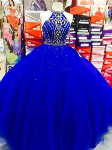 Royal Blue dress with bedazzled gold and silver sparkles ...