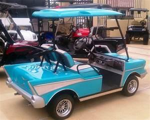 57 Chevy Belair Custom Golf Cart Body Kit Club Car Ds
