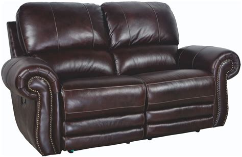 Brown Reclining Loveseat by Brown Power Reclining Loveseat From New Classic
