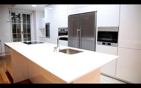 de cocinas modernas lena integrales en marmol  modelos