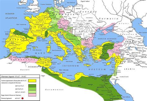 Roman Empire Provinces Map