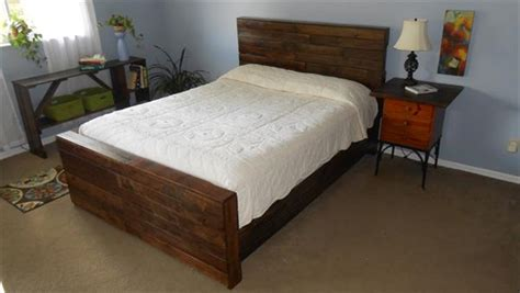 diy pallet twin bed frame pallet furniture diy