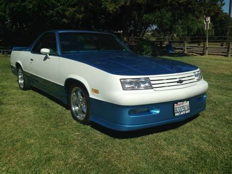 Sell Used 1982 Chevrolet El Camino Ss In Yakima