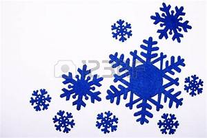 Dark Blue Snowflakes Clipart | www.imgkid.com - The Image ...