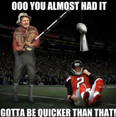 State Farm Fisherman Meme - super bowl 51 scores updates and lady gaga half time daily mail online