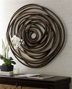 Wood swirl wall decor best neiman marcus and