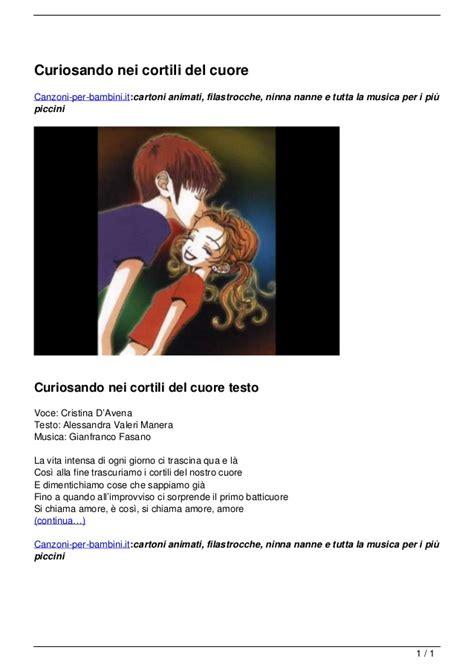 Curiosando Nei Cortili Cuore by Curiosando Nei Cortili Cuore