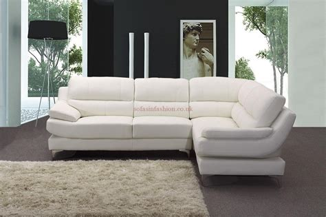 Leder Ecksofa Weiss by 20 Best Collection Of White Leather Corner Sofa Sofa Ideas
