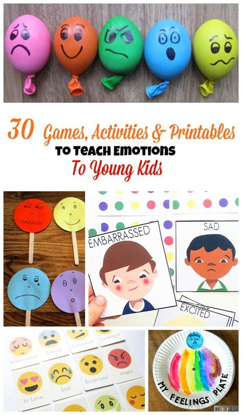30 activities and printables that teach emotions for 783 | 30 Games To teach emotions 1 e1516576016832