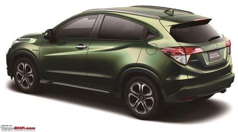 Honda Reveals Vezel  Urban Suv Teambhp