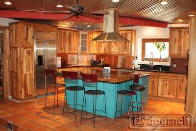 ranch kitchen  turquoise island home decor home