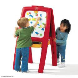 step2 easel for two childrens kids art crafts white black