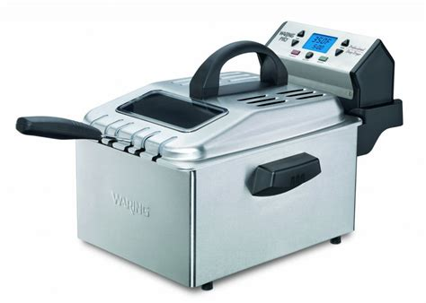 fryer deep waring pro entertaining meals delicious simple brushed stainless professional