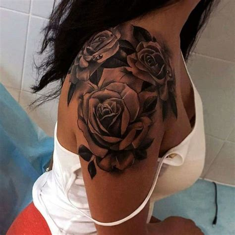 idees tatouage rose  bouquet didees   modeles