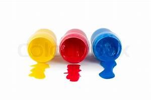 Blau Rot Gelb Grün : rot gelb blau gouache auf einem wei en hintergrund ~ A.2002-acura-tl-radio.info Haus und Dekorationen