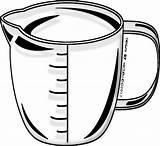 Measuring Cup Clipart Clip Background Line Transparent Measure Teacher Despise Borders Includes Always Form Without sketch template