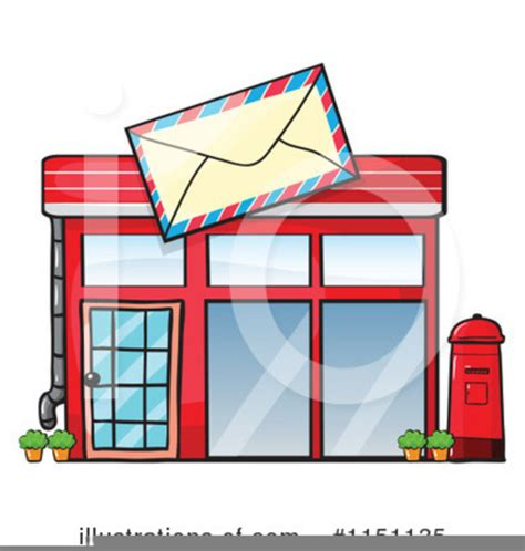 Post Office Clipart Post Office Building Clipart Free Images At Clker