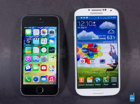 to iphone apple iphone 5s vs samsung galaxy s4