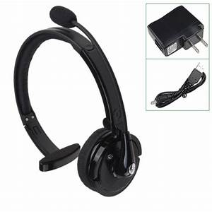 Noise Cancelling Wireless Handsfree Bluetooth Boom Mic