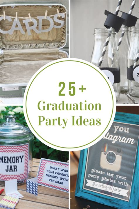 diy graduation party ideas  idea room