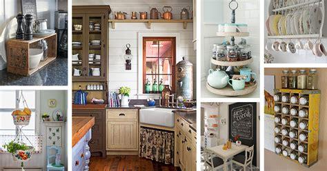 Kitchen Decor Ideas by 34 Best Vintage Kitchen Decor Ideas And Designs For 2019