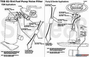 1994 Ford E150 Fuel Pump Location
