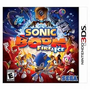 sonic boom nintendo 3ds target