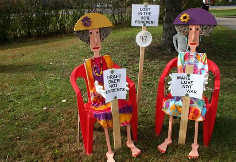 Funny Halloween Tombstones Sayings by Scarecrow Festival Minnesota Prairie Roots
